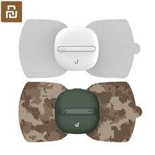Youpin LF marka taşınabilir elektrikli masaj sihirli masaj Sticker kas stimülatörü onlarca darbe şarj edilebilir masaj