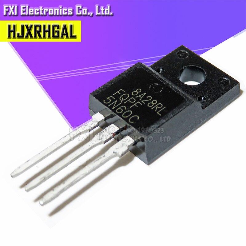 10PCS FQPF5N60C 5N60C TO-220 5N60 TO220 MOS FET Tr New Original
