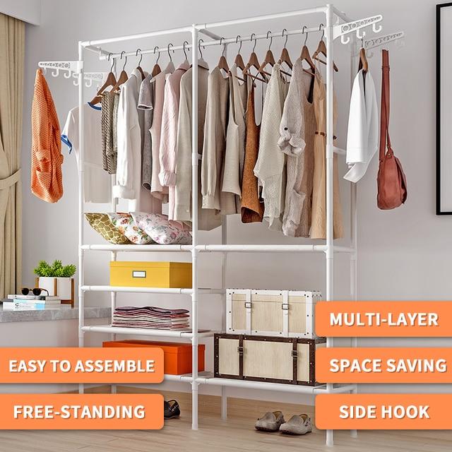 COSTWAY Clothes Hanger Rack  2