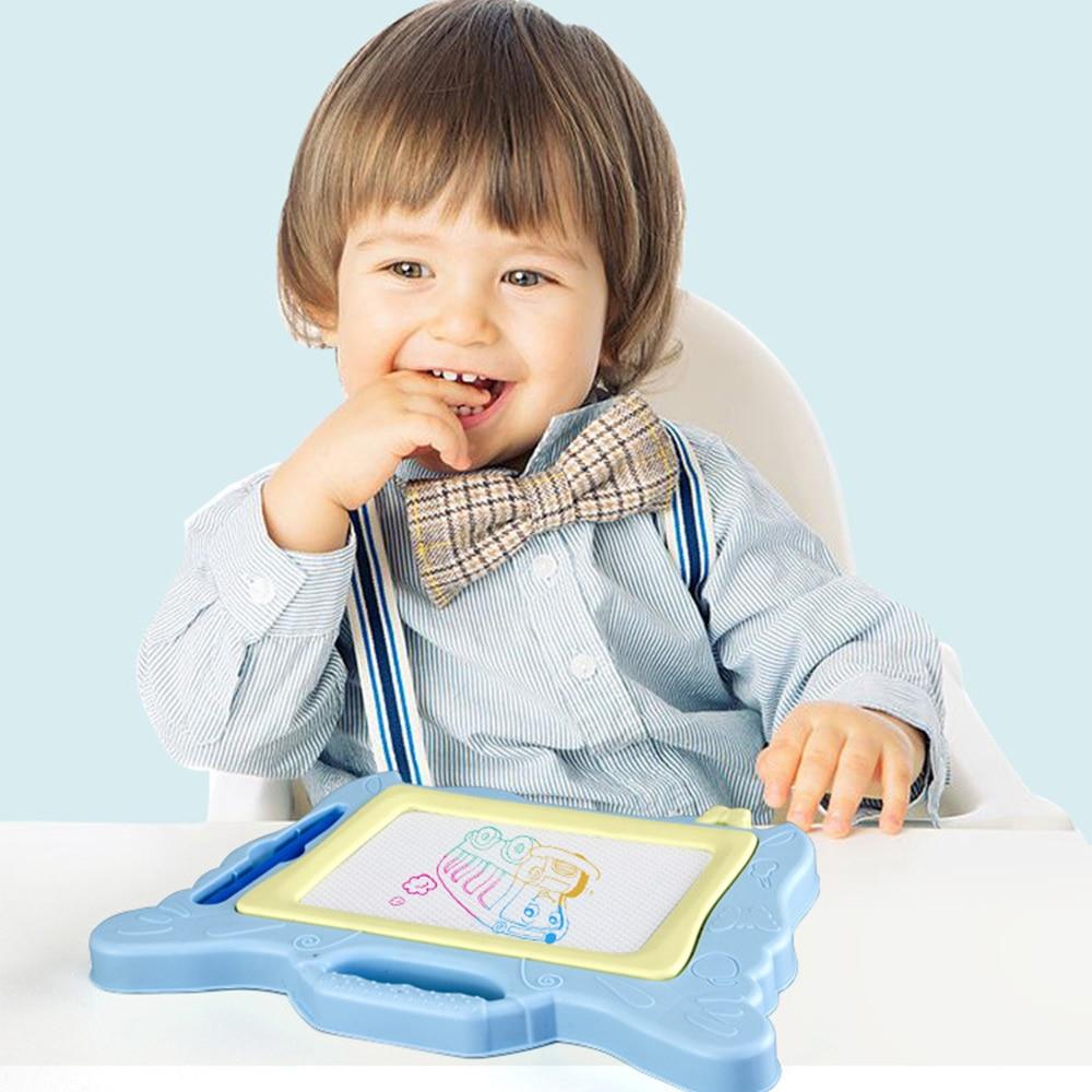 새로운 마법의 자기 드로잉 보드 쓰기 낙서 장난감 ABS 컬러 낙서 어린이 키즈 어린이 장난감 재미 있은