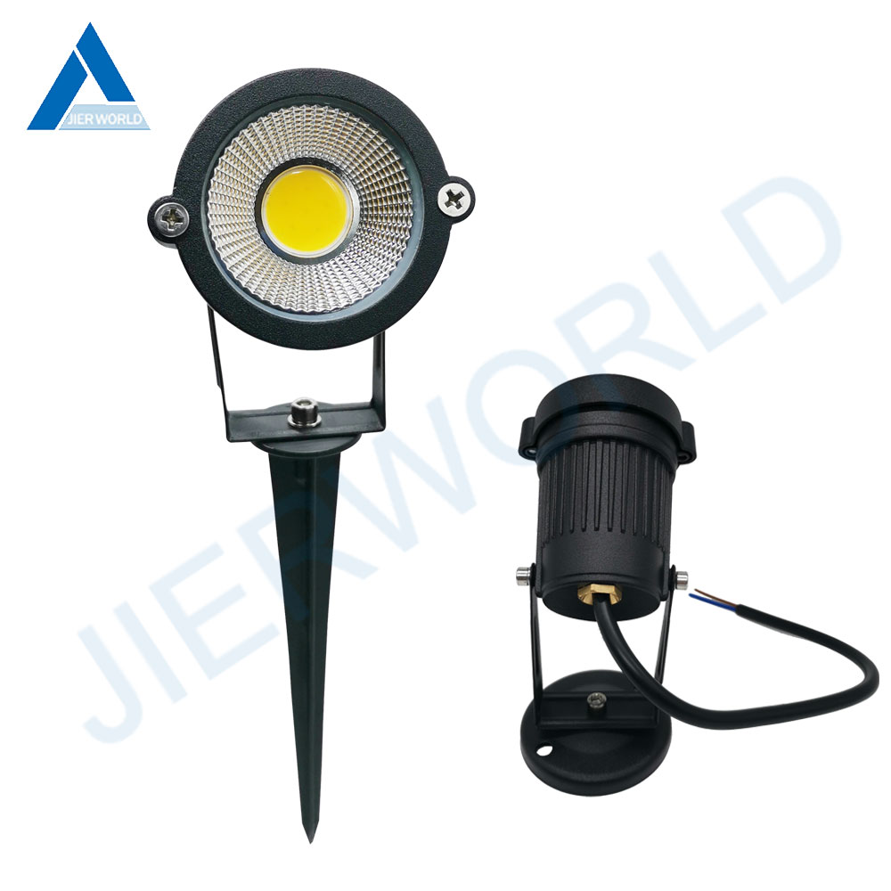 DC12V AC110V 220V COB 3W 5W 7W 9W Lawn Lamp For Walkway Outdoor Garden Light Waterproof Path Lights Spot Light For Garden