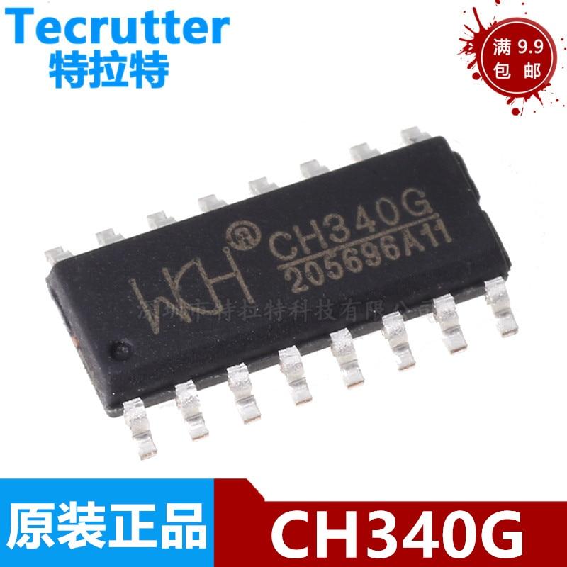 5 шт./лот 100% новый набор микросхем CH340G CH340 340G SOP-16