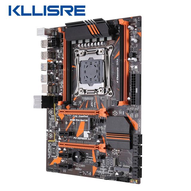 Motherboard assembly, X99 D4 with Xeon E5 2620 V3 LGA2011-3 CPU 2pcs X 8GB = 16GB 2666MHz DDR4 memory