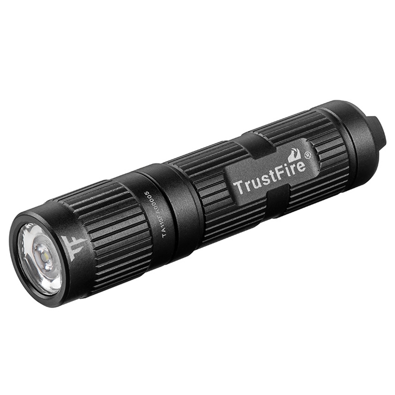 Trustfire Mini3 Edc Pocket Flashlight Waterproof Led Torch Use 10440/Aaa Battery Light Outdoor Camping Hiking Mini Lamp