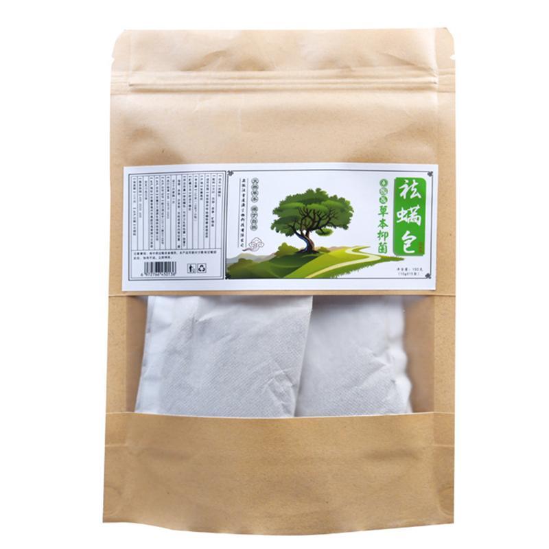 1pcs Natural Herbs Removing Mites Bag Antibacterial Mite Killer Pack For Bed Chinese Herbal Medicine Safety Anti-Mite