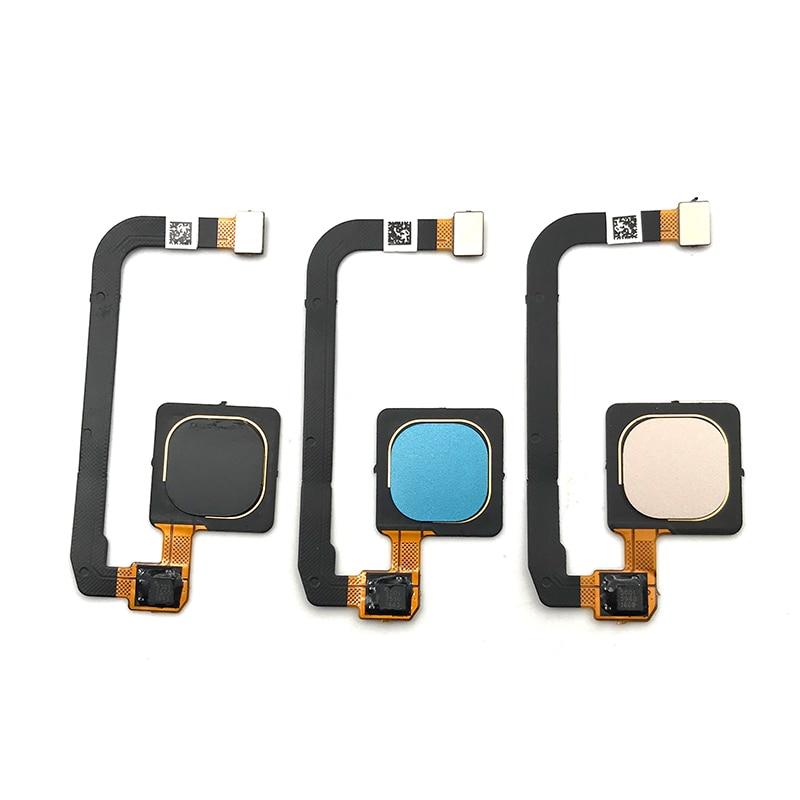 10 pcs/lot, 100% testé Original pour Xiao mi mi Max 3 Max3 capteur d'empreintes digitales accueil retour clé Menu bouton Flex câble ruban