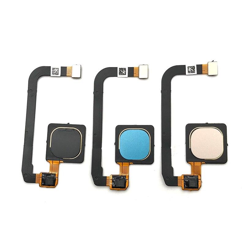 10 unids/lote, 100% probado Original para Xiaomi Mi Max 3 Max3 Sensor de huella digital inicio retorno Tecla MENÚ botón Flex Cable cinta