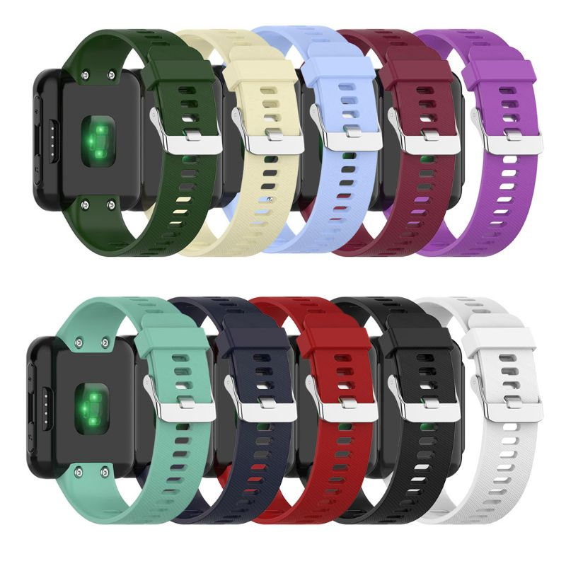 Silicone Wrist Strap Replacement Watch Band For Garmin Forerunner 30/35 Bracelet
