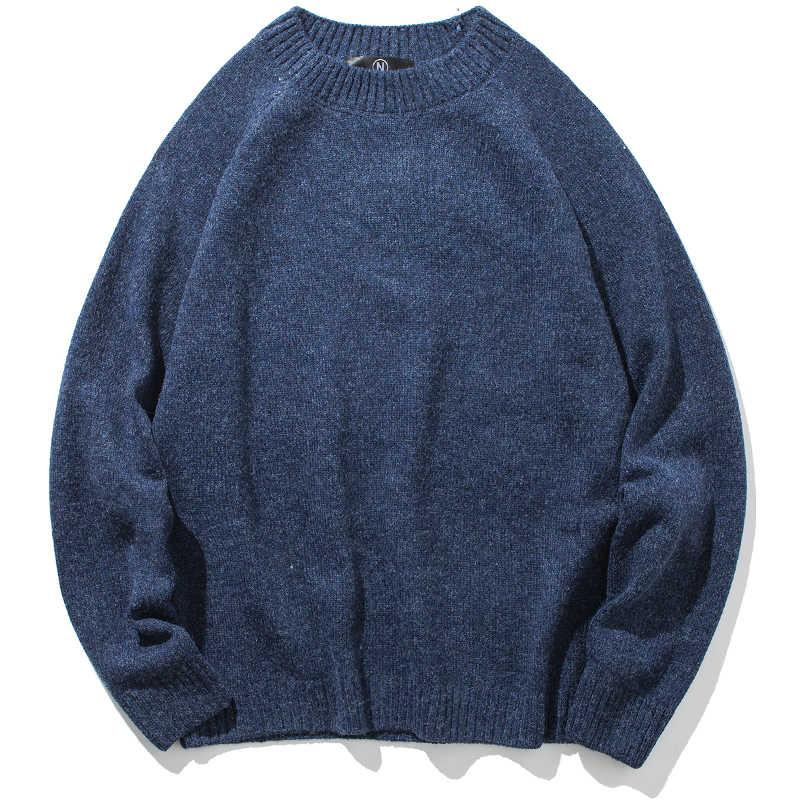 Winter Für Männer 2020 Neue Lose Warm Halten Männlichen Gestrickte Pullover Pullover Teenager Jungen Schwarz Grau Gelb Blau Khaki M62