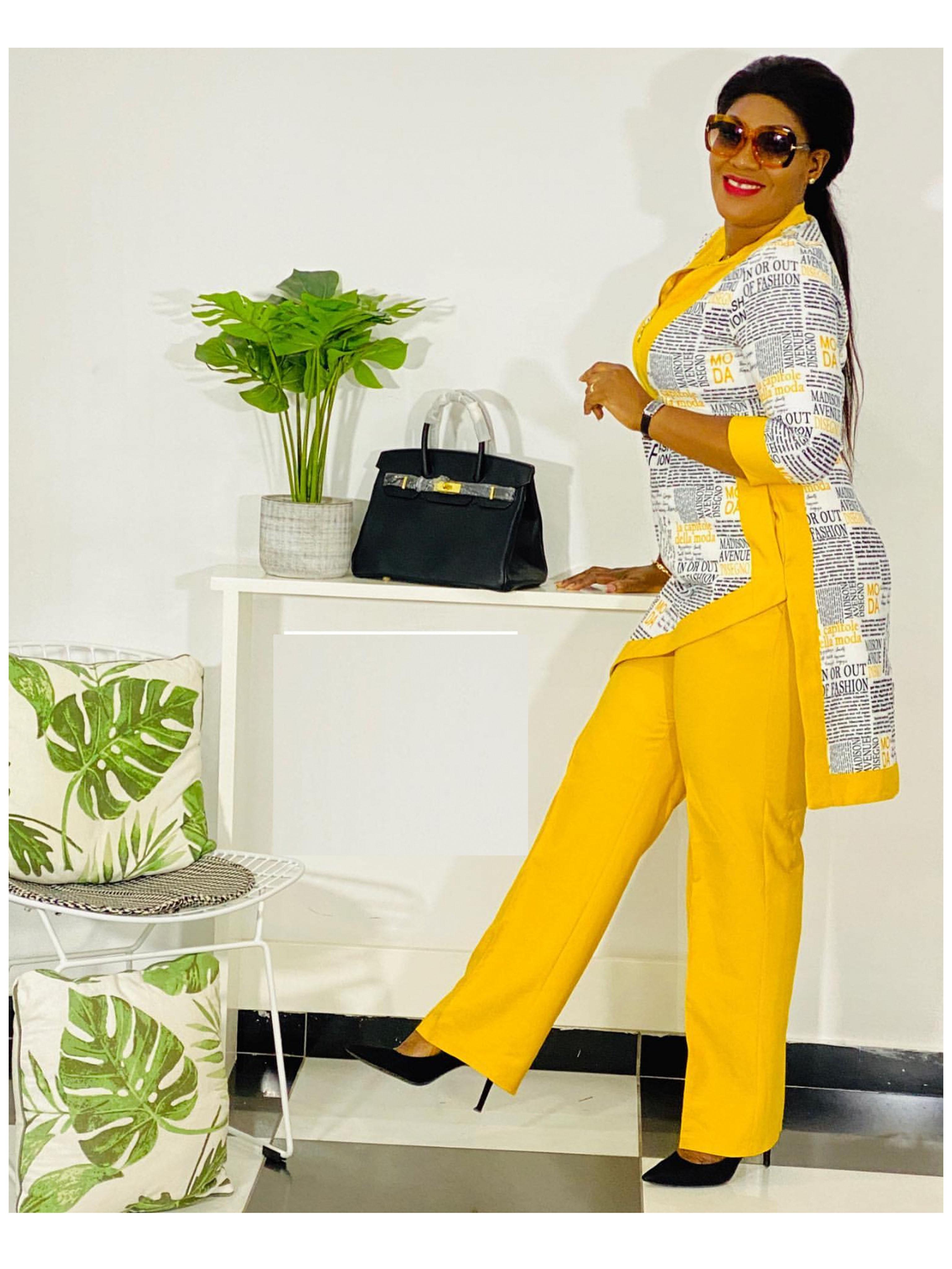 Dashiki African New Fashion Suit  2