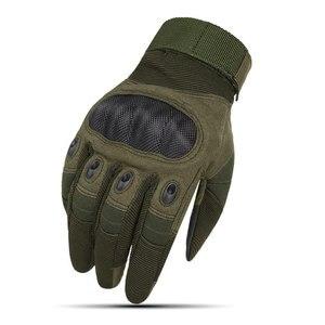 Для мужчин тактические перчатки армейские сенсорный Экран перчатки для страйкбола армии Пейнтбол съемки Шестерни Боевая Броня защиты оболочки перчатки