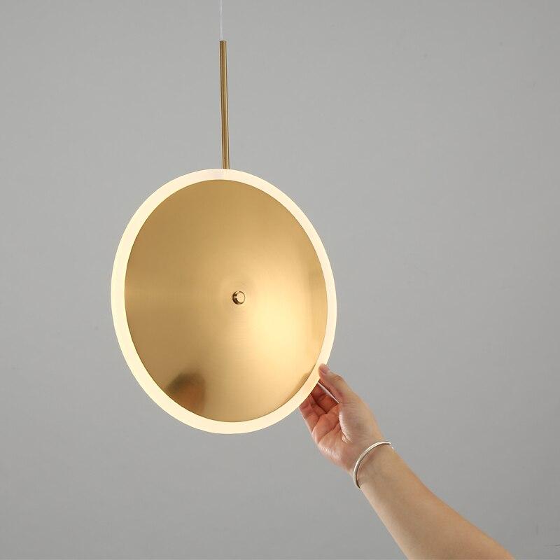 Işıklar ve Aydınlatma'ten Kolye ışıkları'de Iskandinav Aplomb kolye ışıkları Modern LED kolye lambaları beyaz Hanglamp alüminyum luminaria oturma odası mutfak aydınlatma armatürleri title=