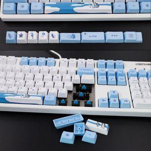 Image 5 - 113 Keys Antarctic Penguin OEM PBT Keycaps Mechanical Keyboard Keycaps PBT Dye Sublimation Keycap Thermal Sublimation