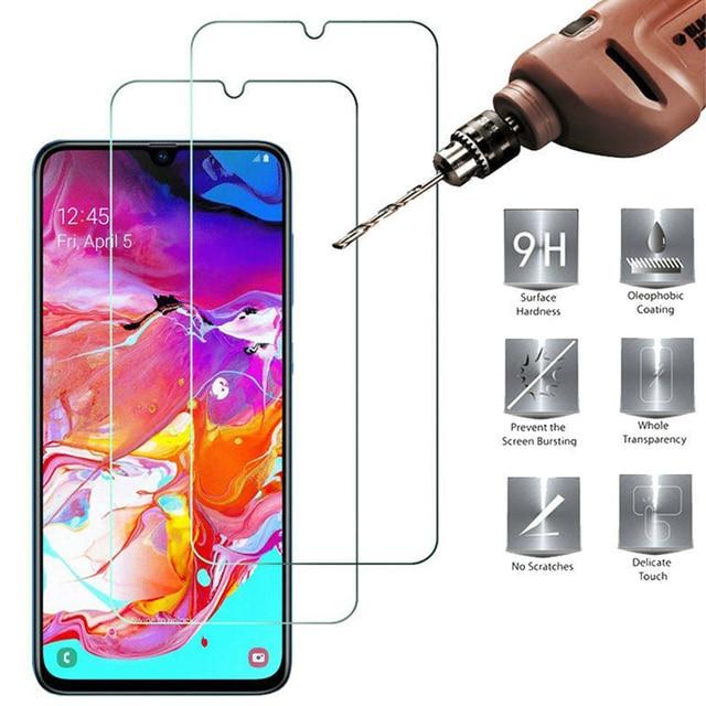 9H Tempered Glass for Samsung A50 A40 A30 A20e A10 A20 Screen Protector for Samsung Galaxy A51 A71 A70 A21S M51 M31 M21 A31 A11 1