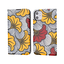 iphone 11 case African print Flip Wallet Case with Card Holder High-quality Full Protective Stand Cover case Customized photo for apple ipod touch 7 case vintage calf grain leather flip stand shockproof wallet cover for ipod touch 5 6 case card holder