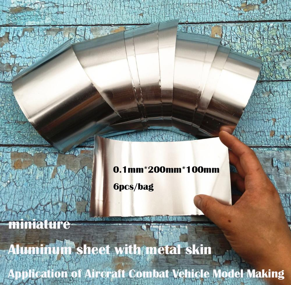 Miniature  Aluminum Sheet With Metal Skin  Application Of Aircraft Combat Vehicle Model Making  Sand Table Model Material