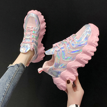 Casual Shoes Ladies Shoes Chunky Sneakers Colorful Sneakers