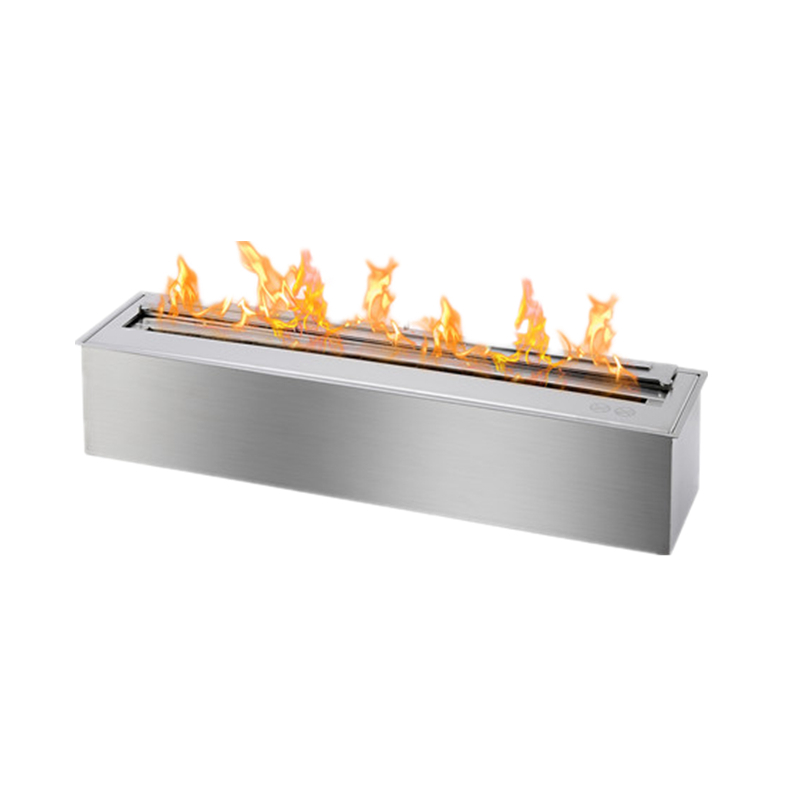 48 Inch Manual Burner  Modern Fireplace Ethanol