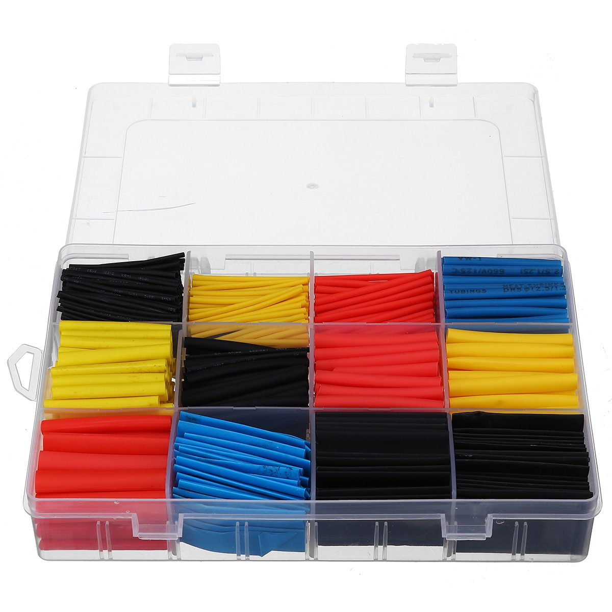 DealCable Assortment-Wrap Sleeving-Tubing-Set Electrical-Insulation Pe-Heat Insulated 780pcs╔