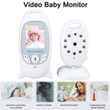 VB601 2.4Ghz Video Baby Monitors Wireless 2.0 Inch LCD Screen 2 Way Talk IR Night Vision Temperature Security Camera 2 0 color video wireless baby monitor two way talk night vision ir night vision video baby camera with music temperature