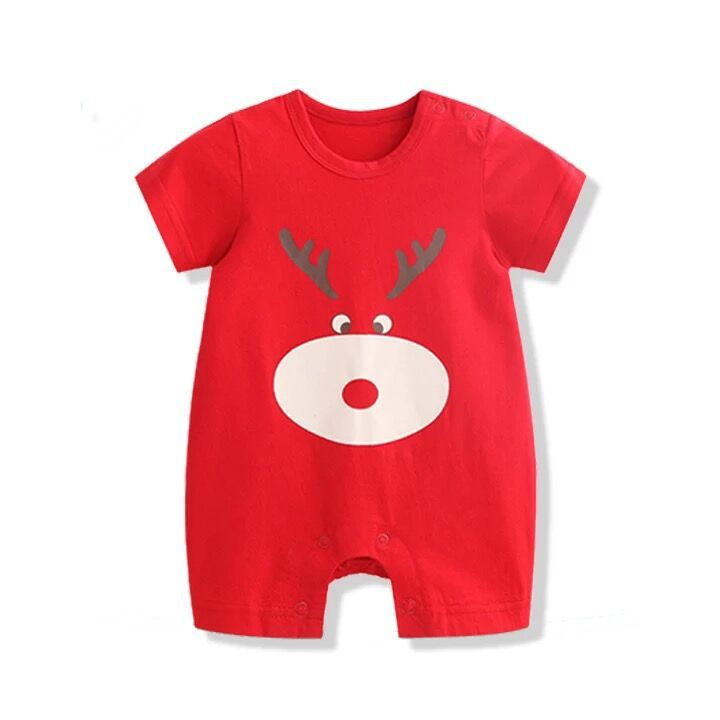 H64ef79b65d1845eb8fae42ab44200f52i Newborn Mickey Baby Rompers Disney Baby Girl Clothes Boy Clothing Roupas Bebe Infant Jumpsuits Outfits Minnie Kids Christmas