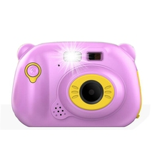 IG-WiFi Digital Camera for Kids with 2 Inch IPS Screen, Mini Rechargeable and Shockproof Creative DI