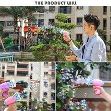 Напольная игрушка пузырчатая воздуходувка машина игрушка детский мыльный пистолет с мыльными пузырями мультфильм водяной пистолет подарок для детей ручной насос воздуходувка