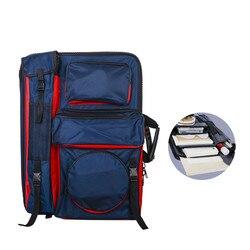 Большая художественная сумка для рисования доска для рисования дорожная сумка для эскизов инструменты для рисования для хранения художник...