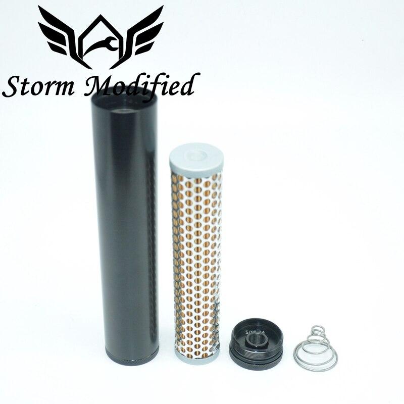 """New Billet Aluminum Low Profile Napa 4003 Wix 24003 Fuel Filter 5//8/""""-24 1//2/""""Bore"""