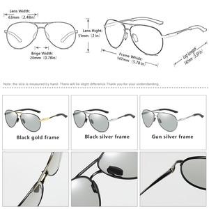 Image 5 - CoolPandas lunettes de soleil polarisées pour la conduite, pilote, verres photochromiques HD, décoloration de laviation, pour hommes et femmes