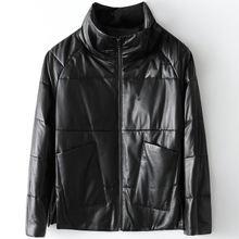 2020 женское модное пальто из натуральной овечьей кожи h69