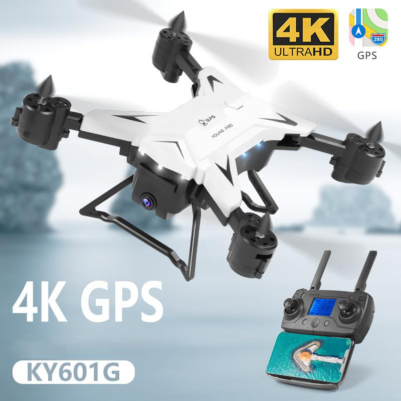 New Arrival Ky601g Gps Drone Quadcopter With 5g 4k Hd Camera 2000 Meters Control Distance Rc Helicopter Drones Foldable Toy