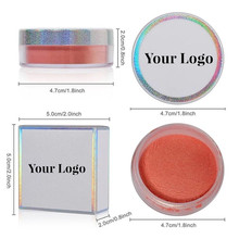 Wholesale Makeup Highlighter Powder Lasting Brighten Trimming Single Color Contour Shading Powder Diamond Glow Highlight  Powder