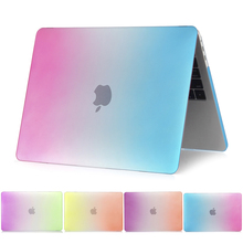 Laptop Case For macbook air 13 case the rainbow series For Apple MacBook Air Pro Retina 11 12 13 15 inch with Touch Bar