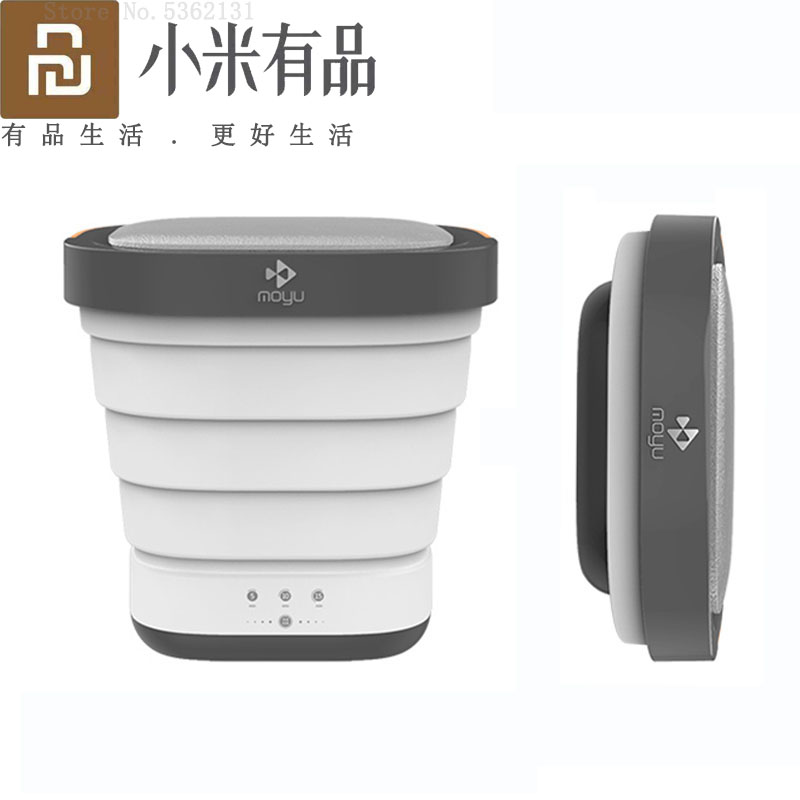 Foldable Bucket Washer Dryer MOYU Xiaomi Washing Drying Machine Camping Outdoor