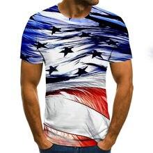 Мужская и женская футболка с 3d принтом Повседневная модная