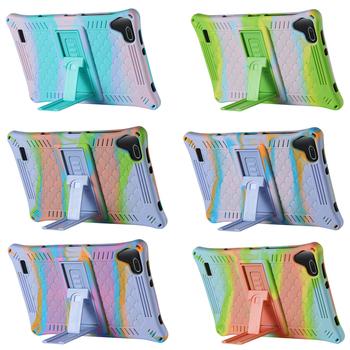 Dla Teclast P80X 4G Android 9 0 Netbook Phablet 8 cali P80H nowe tablety kolorowe krzemu pokrywy skrzynka etui ochronne skóra PU tanie i dobre opinie Osłona skóra CN (pochodzenie) For Android Tablet Stałe 12 9cm Uniwersalny Moda Many Odporność na spadek Ochrona przed kurzem