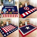 Ретро Британский и американский флаг, ковер, чайный столик, коврик для детской комнаты, хлопковый коврик для детской спальни, подстилки для ...