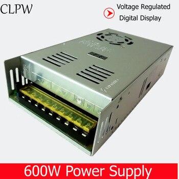 Single output AD to DC 12V 15V 18V 24V 30V 36V 48V 60V 600W switching power supply LED SMPS CCTV stepper digital display
