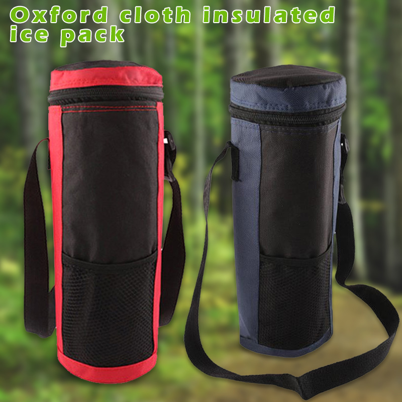 Water Bottle Cooler Tote Bag Insulated Holder Carrier Cover Pouch For Travel FOU99