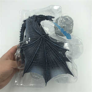 Image 4 - 19cm  Season 8 Viserion Ice Dragon Joint Movable PVC Figure Nights King Knight Model Collective Toys