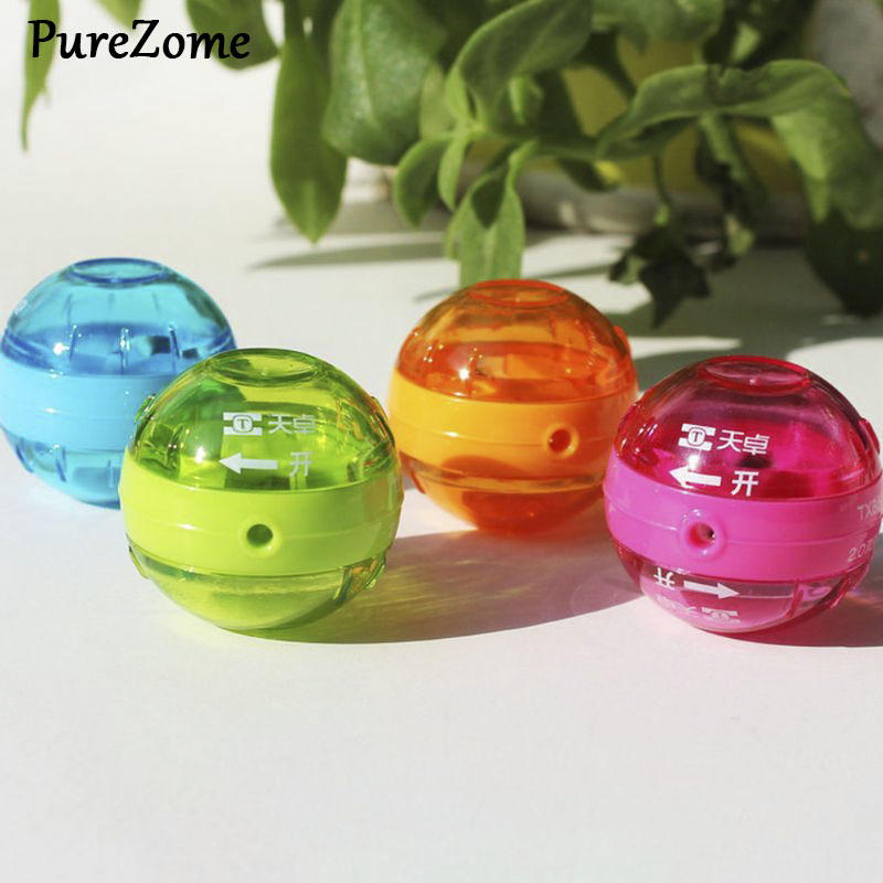 Cute Mini 2.0mm Pencil Lead Sharpener Double Hole School Office Supply Stationery Kids Gift