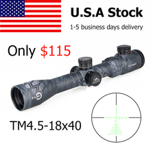 цены Canis Latrans Rifle Scope TM4.5-18x40 Rifle Scope Second Reticle Shockproof Fogproof 30mm Tube Size For Outdoor Hunting gs1-0287