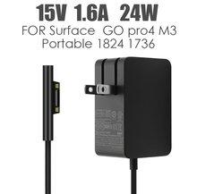 Зарядное устройство 15 в 1824 а 24 Вт для microsoft surface