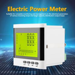Multi-function Three-phase Programmable Electric Power Meter Digital LED Ammeter Voltmeter Electrical Instrument
