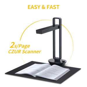 Image 2 - CZUR  Book Scanner Aura Pro Portable Document Scanner 14MP Max A3 Size with Smart OCR Led Table Desk Lamp for Family Home Office