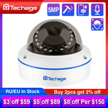 H.265 4MP 5MP 48V POE IP камера 2,8 мм купольная Крытая уличная Антивандальная аудио запись P2P ONVIF CCTV видеонаблюдения