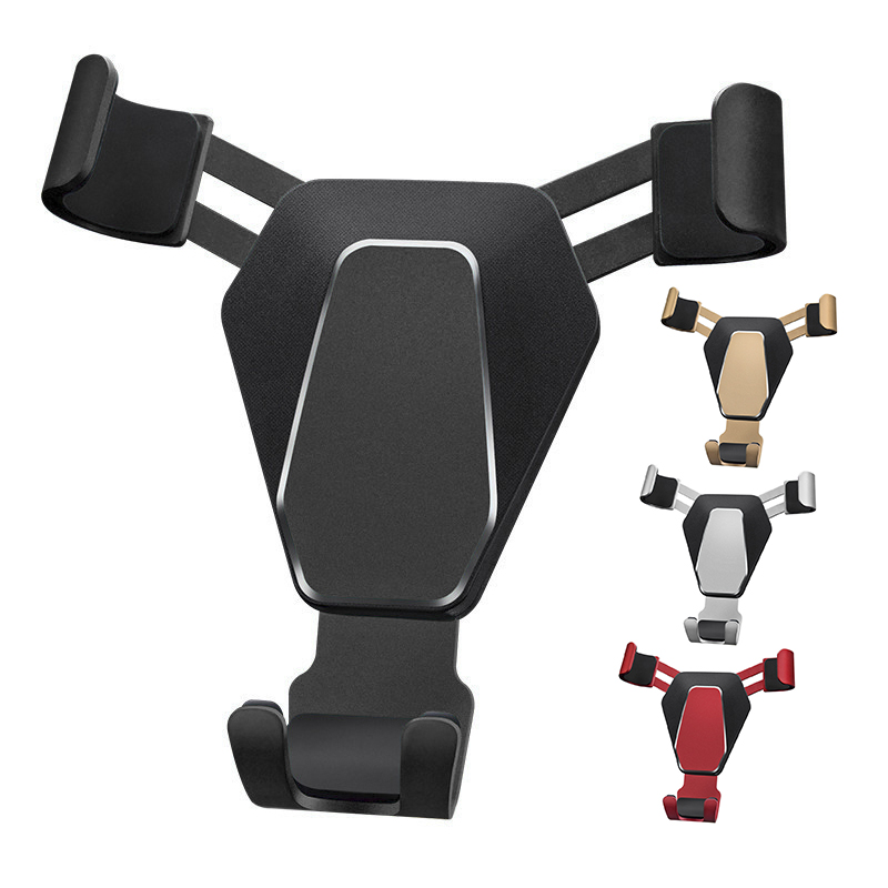 Phone Holder Gravity Car Holder For Phone In Car Air Vent Clip Mount No Magnetic Mobile Cell Stand Support For IPhone Sumsang