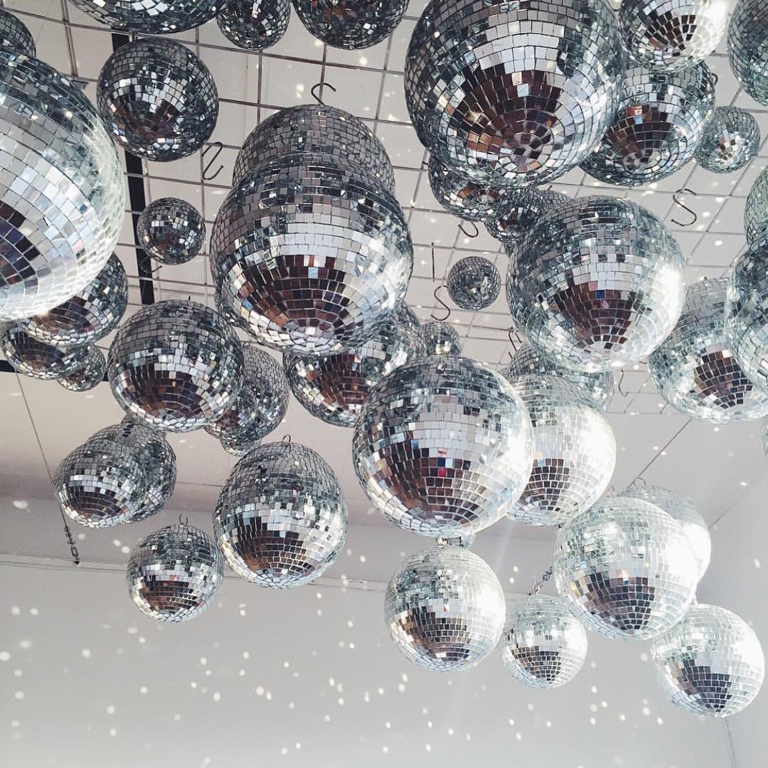 1Pack 30-60mm Christmas Ball Xmas Tree Hanging Ornaments Pendants Mirror Glass Disco Ball Bauble Home Christmas Party Decoration