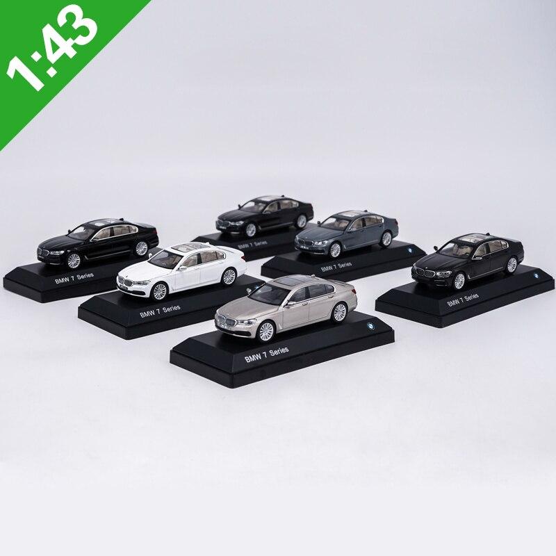 1:43 7 Series 750Li/760Li Coupe Alloy Model Car Static High Simulation Metal Model Vehicles With Original Box